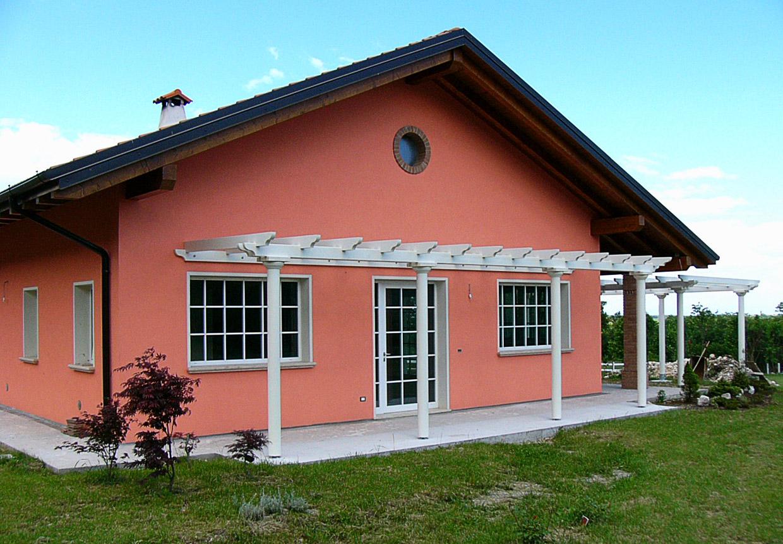 Facciata casa colori idee per la casa - Colore esterno casa campagna ...
